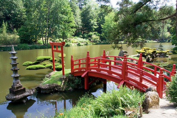 Looks Like Japan ... ( Location East Park Maulévrier, Maine-et-Loire)    Landscapes of France That Give A Foreign Look