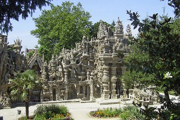 Looks Like Cambodia ... (Location Ideal Palace of Postman Cheval, Drôme)    Landscapes of France That Give A Foreign Look