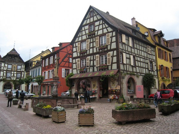 Looks Like Germany ...( Location Kaysersberg, Haut-Rhin)   Landscapes of France That Give A Foreign Look