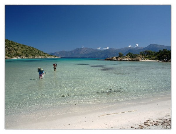 Looks Like Pacific Islands ... (Location Desert Agriate, Corsica)   Landscapes of France That Give A Foreign Look