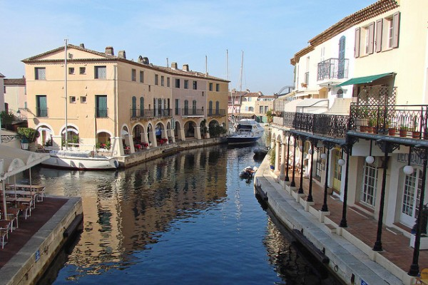 Looks like Italy... (Location Port Grimaud, Var)  Landscapes of France That Give A Foreign Look