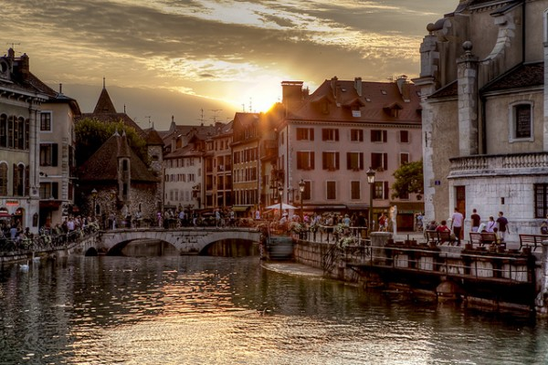 Looks Like Austria ... (Location Annecy, Haute-Savoie)   Landscapes of France That Give A Foreign Look