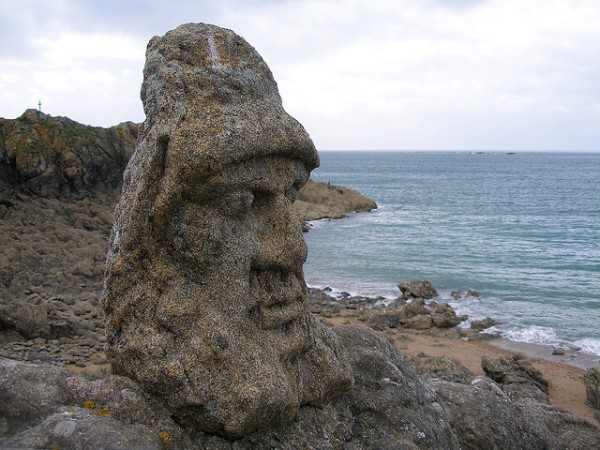 (Bonus) Looks Like Easter Island.. ( Location St Malo, Ille-et-Vilaine)    Landscapes of France That Give A Foreign Look