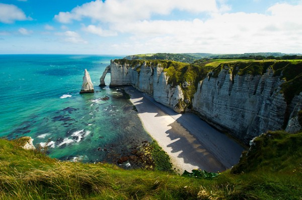 A look of Ireland ... (Location Etretat, Seine-Maritime)   Landscapes of France That Give A Foreign Look