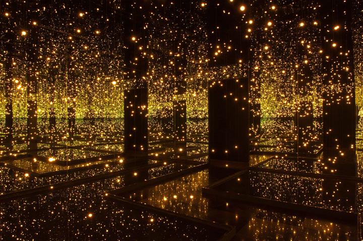 Mirror and LED Light Installations Yayoi Kusama