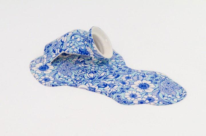 Nomad Patterns: Amazing Molten Porcelain Artwork Of Livia marin