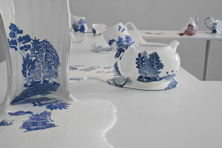Nomad Patterns: Amazing Molten Porcelain Artwork Of Livia marin