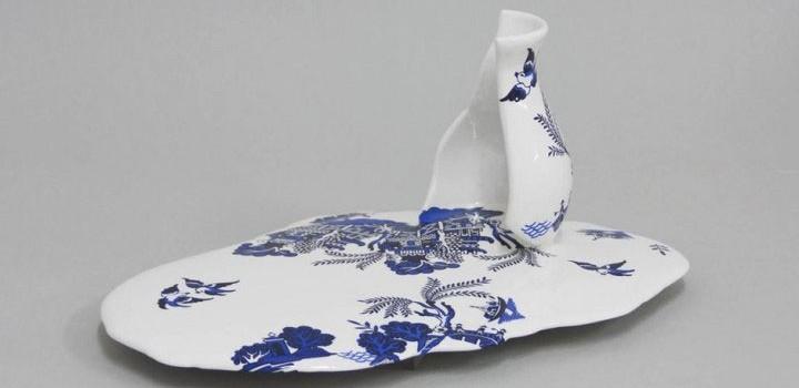Molten Porcelain Artwork 9