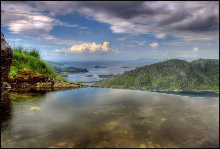 Natural pool Lochailort - Scotland, United Kingdom