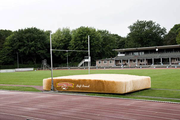 Pepperidge Farm Soft Bread-Amazing Ads That Merge With Their Surroundings