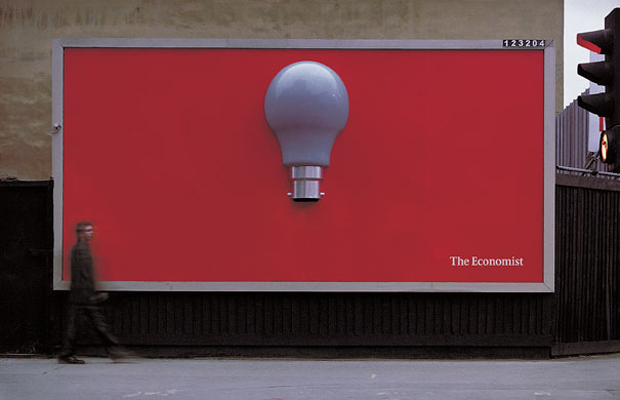 Economist: Highly Creative advertisement Examples