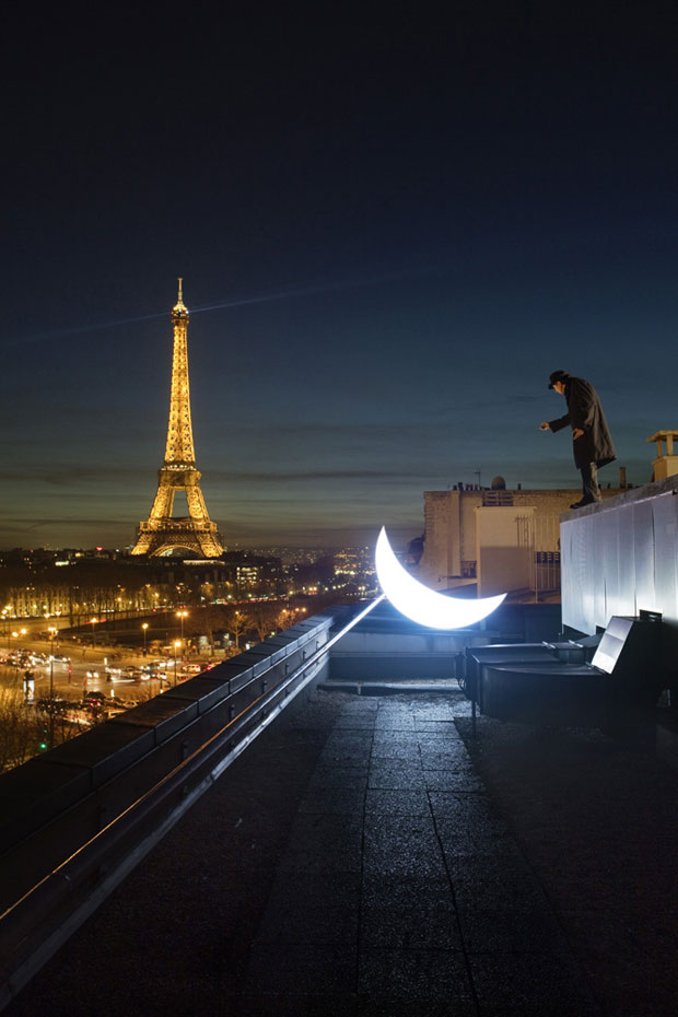 Russian Artist Takes Portable Moon Around The World 1