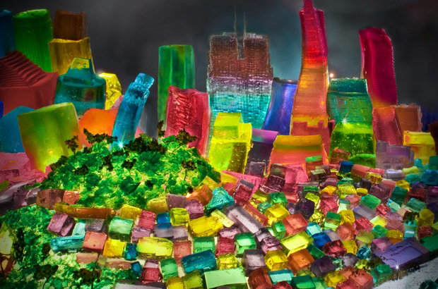 Liz  Hichkok: Incredible Cities And Monuments Made From Jelly