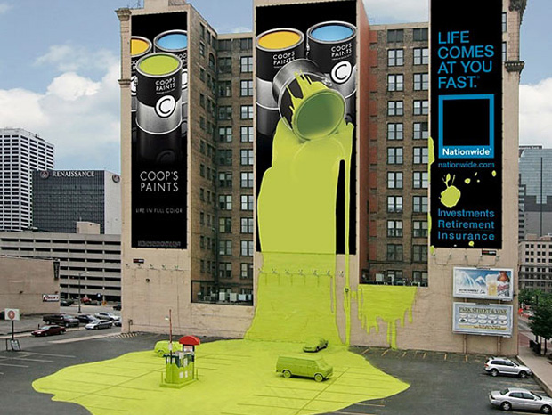 Paint advertisement: Highly Creative advertisement Examples-1
