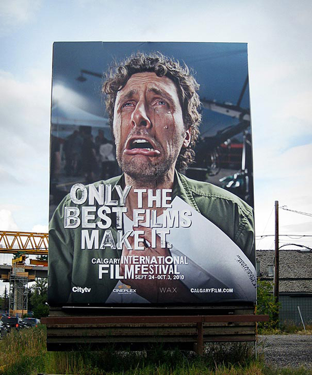 Film Festival: Highly Creative advertisement Examples