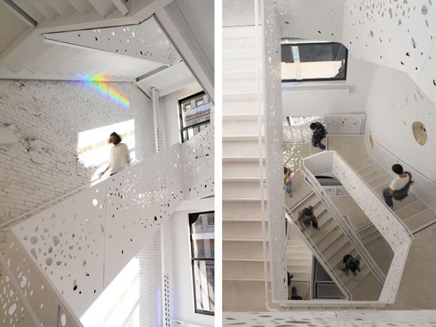 Stevenholl stairs