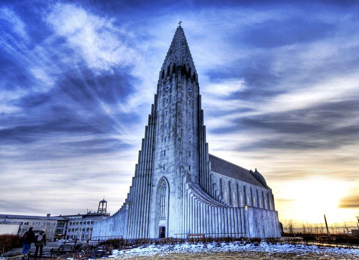 The Church of Hallgrimur - Reykjavik, Iceland