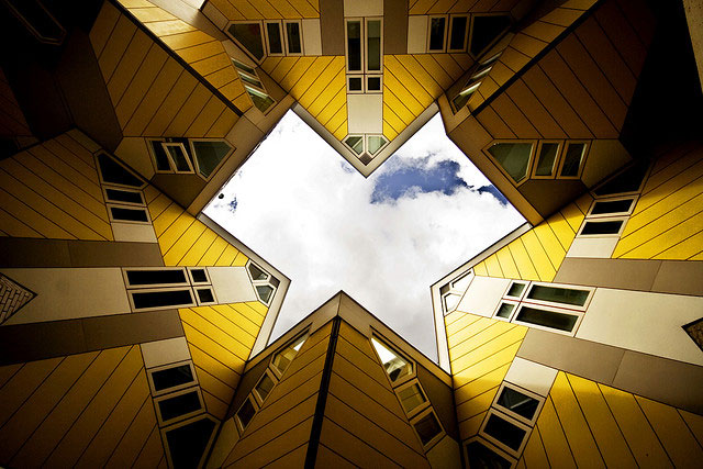 The Cube Houses - Rotterdam, Netherlands