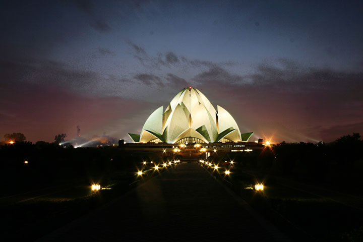 The Lotus Temple - Delhi, India