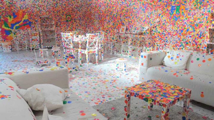 The Obliteration Room Kusama