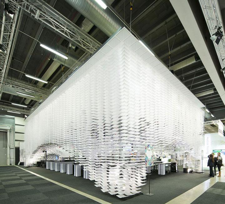 The Swedish Furniture Fair Installation