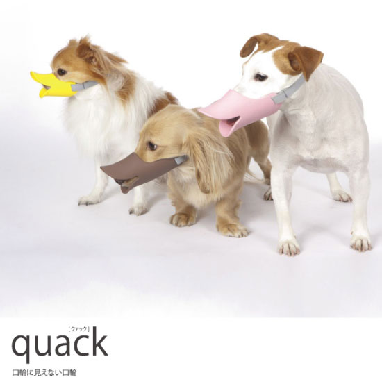The Muzzle Duckbill To Remove Any Credibility To Your Dog