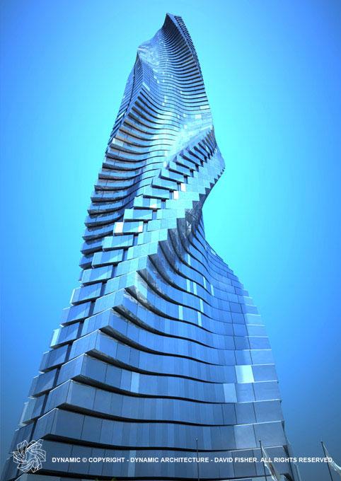 The rotating tower - Dubai, UAE