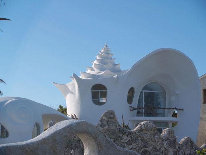 The shell house - Isla Mujeres, Mexico