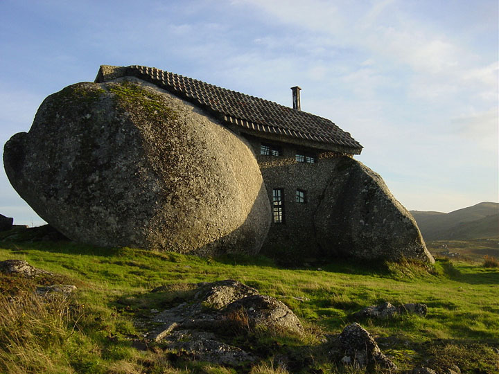 The stone house - Guimaraes, Portugal