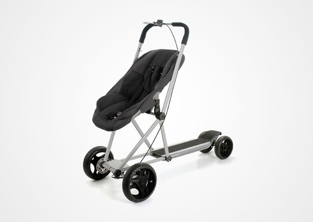 The stroller scooter