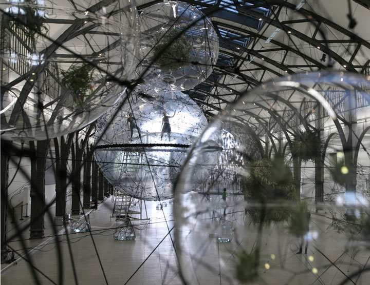 5. Tomás Saraceno's Cloud Cities Biospheric