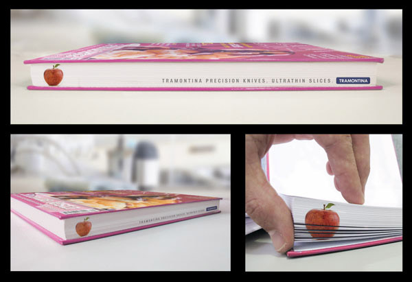 Tramontina Precision Knives - Thin slice-Amazing Ads That Merge With Their Surroundings