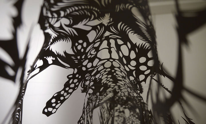 Amazing 3D Sculptures Made Using Kirigami 19