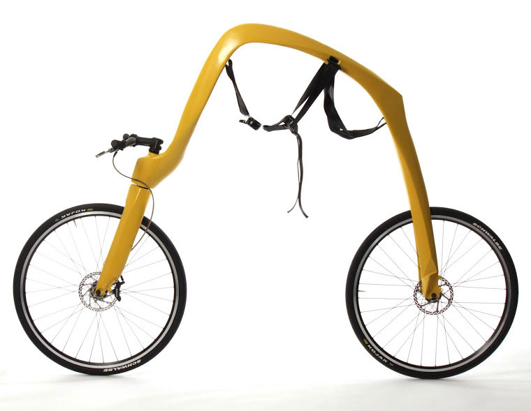 A bike without seals or pedals