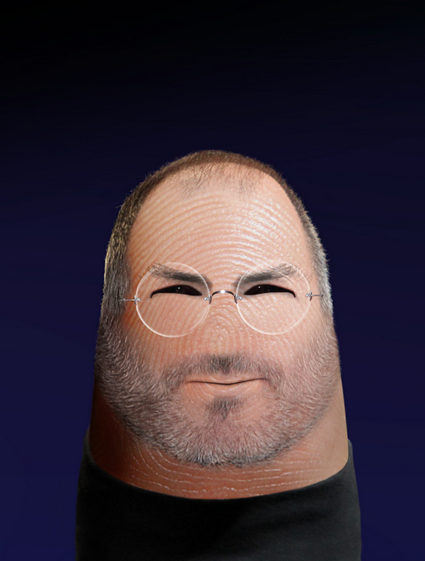 dito Steve Jobs- Fingers Take The Shape Of Celebrities