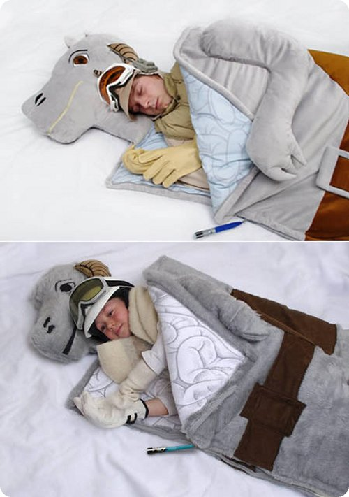 The Tauntaun-Most Original Sleeping Bag Designs