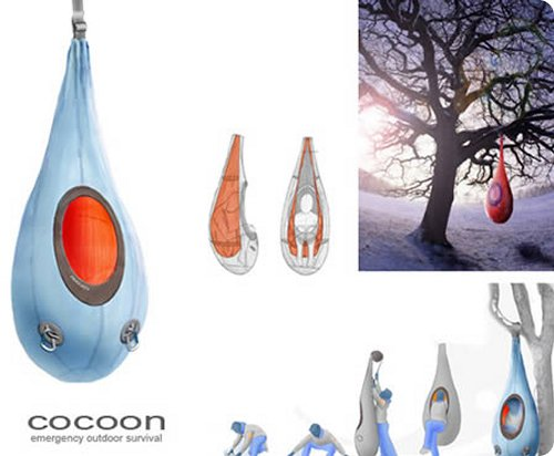 The Cocoon-Most Original Sleeping Bag Designs