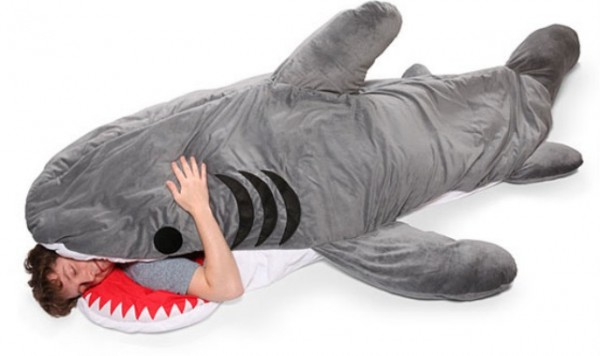 shark-sleeping-bag-Most Original Sleeping Bag Designs