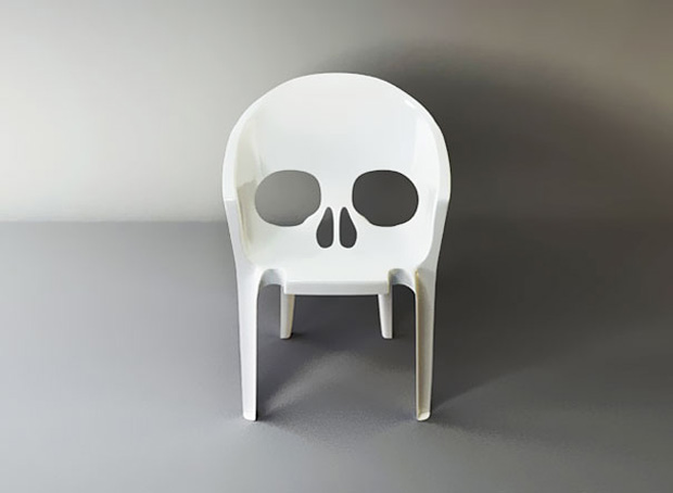 skull-chair-Original Chair Designs To Decorate Your Office Or Residence