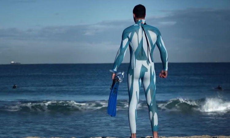 Surfing Suit To Avoid Sharks 3