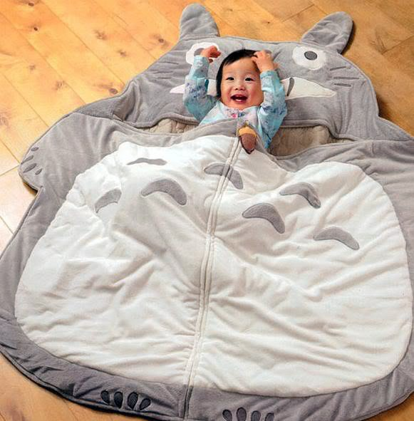 totoro-Most Original Sleeping Bag Designs