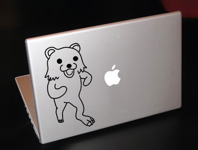 pedo bear-Must Have Stickers For Apple And Video Game Geeks