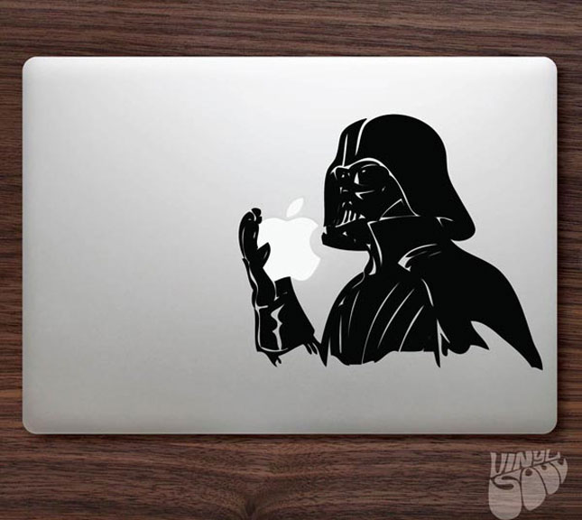 darth vader-Must Have Stickers For Apple And Video Game Geeks