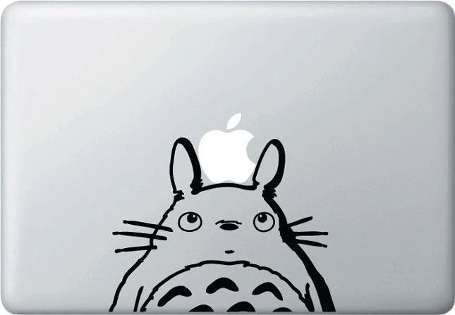 Totoro-Must Have Stickers For Apple And Video Game Geeks