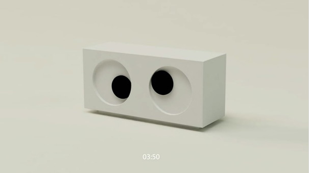 Watchful eye clock: Unusual And Original Clock Designs
