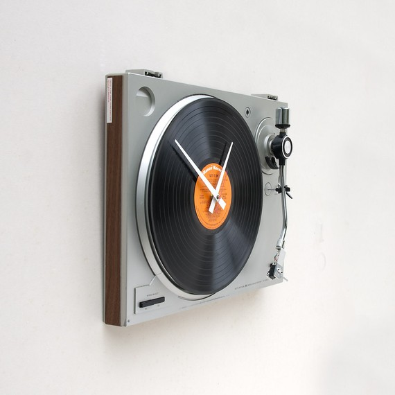 Music Fan Clock:Unusual And Original Clock Designs