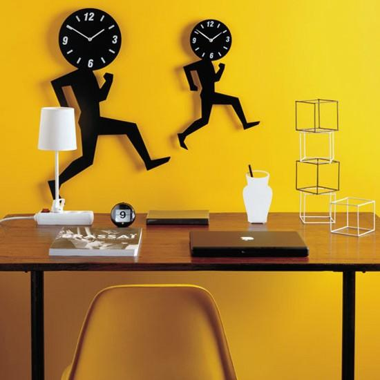 Clock Head:Unusual And Original Clock Designs