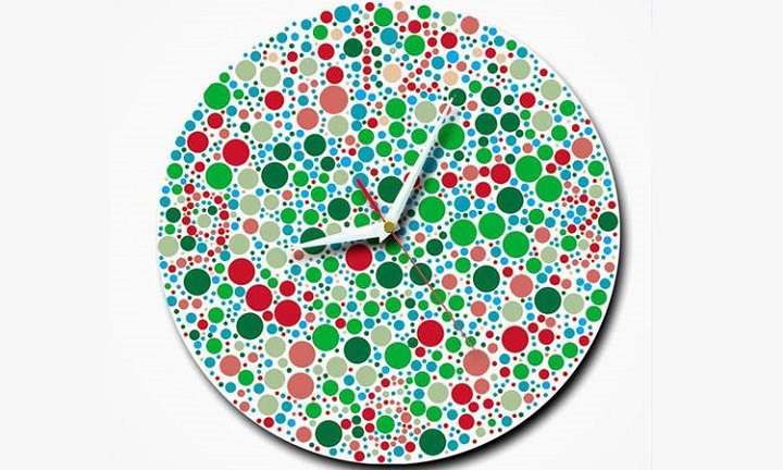 colorful clock:Unusual And Original Clock Designs