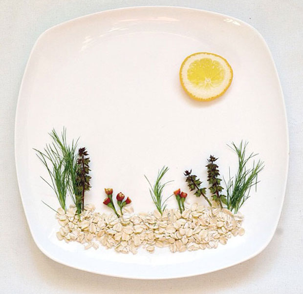 Sublime Artworks Made From Food