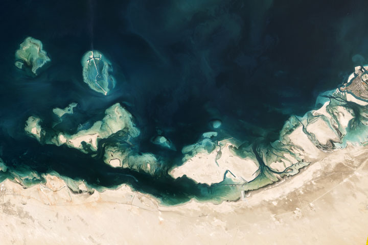 Coast of the United Arab Emirates